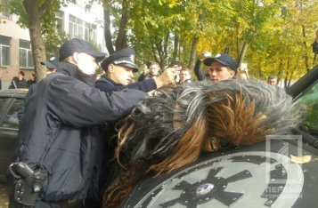 Chewbacca pas au meilleur de sa forme à Odessa
